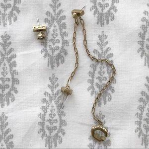 allsaints bijou ear cuff earring set